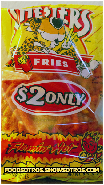 Chester's Fries Flamin' Hot chips